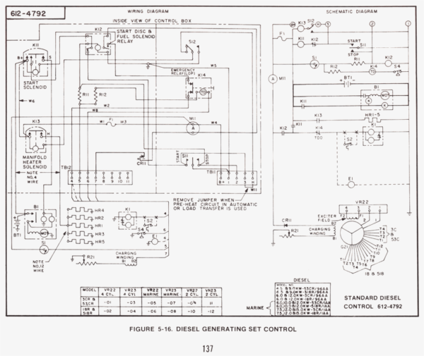 Onan Cck Wiring Diagram Onan Cck Generator Wiring Diagram on