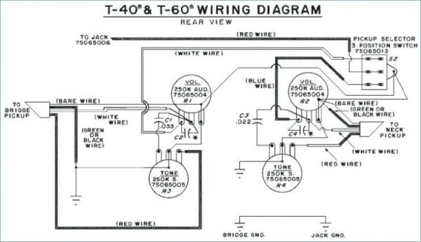 Peavey T 40 B Wiring Diagram