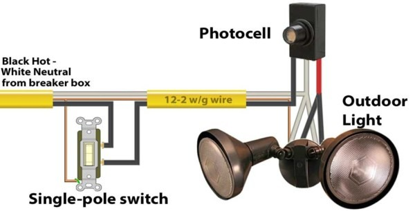 Photoelectric Cell Wiring