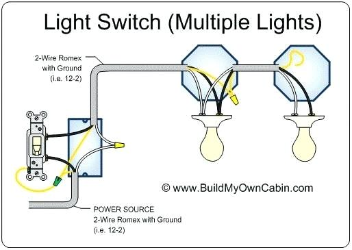 Power Into Light Multiple Lights Wire 3 Way Light Switch Full Size
