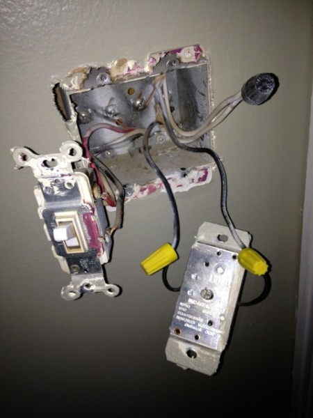 Replacing A Dimmer Switch With A Standard Switch
