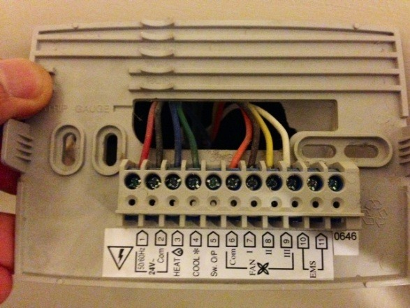 Replacing Old Honeywell T8575b Thermostat With Radio Thermostat