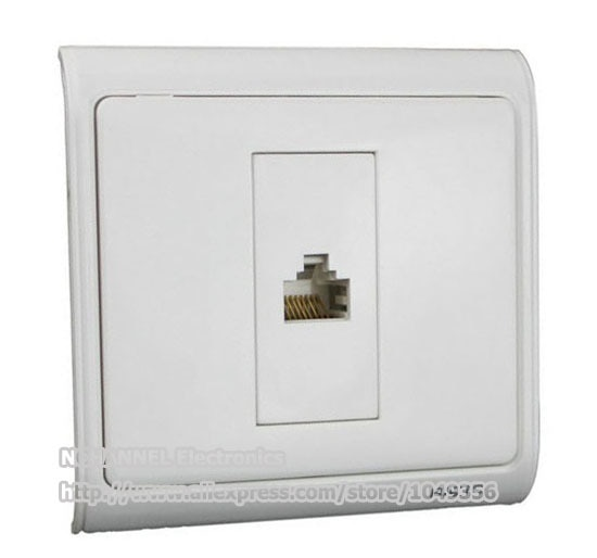 Rj45 Ethernet Cable Network Module Crystal Head Smart Switch Panel