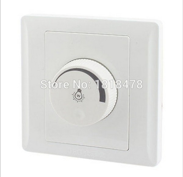 Rotary Switch Single Pole Light Intensity Control White Light