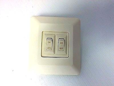 Rv Light Switch Volt Double Swivel Reading Light On Off Switch