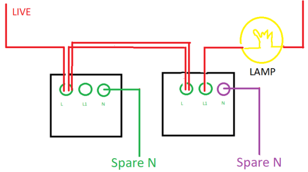 Smart 2 Way Switches With Ordinary Smart Wall Switches