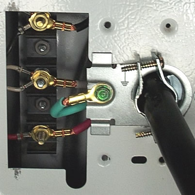 Solved  What Size Screw Is Use To Install The Dryer Cord