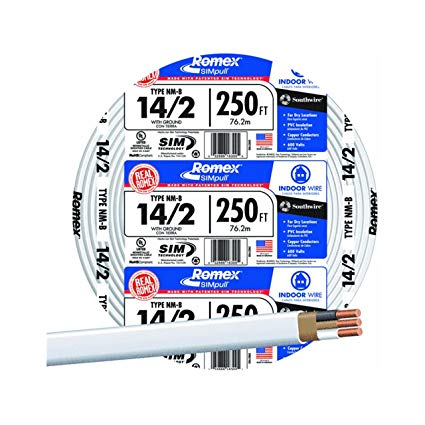 Southwire Company  28827455 250' 14 2 W G Nm Cable