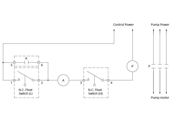 Sump Pump Switch Wiring Diagram