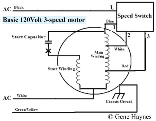 Switch 3 Wire Fan Wiring Diagram