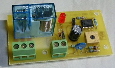 Temperature Controlled Switch, Simple Thermostat
