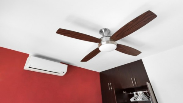 The Heat Is On! The Ceiling Fan Vs  The Air Conditioner