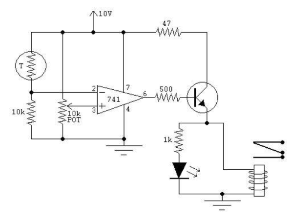 Thermostat Switch Schematic