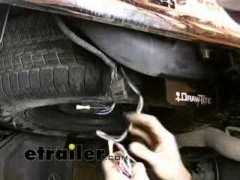 Trailer Wiring Harness Installation 2006 Dodge Ram