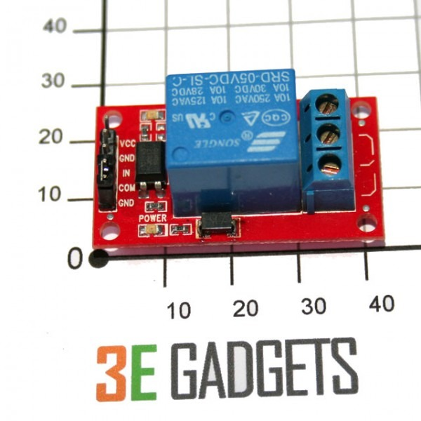 Ttl Digital Output To Relay Output (no   Nc)