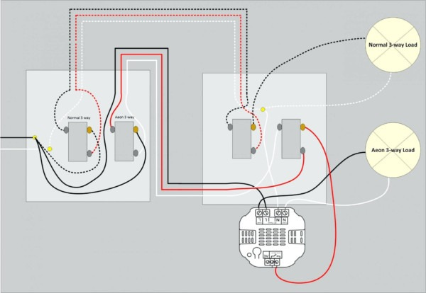 2 Gang Switch Wiring Diagram