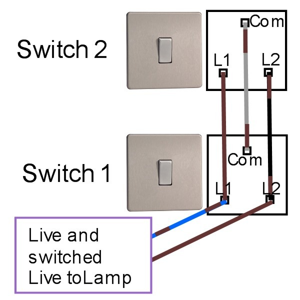 How To Install A Two Way Electrical Switch