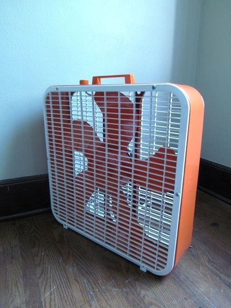Update An Old Box Fan With Spray Paint! I Have Two Of These Hiding