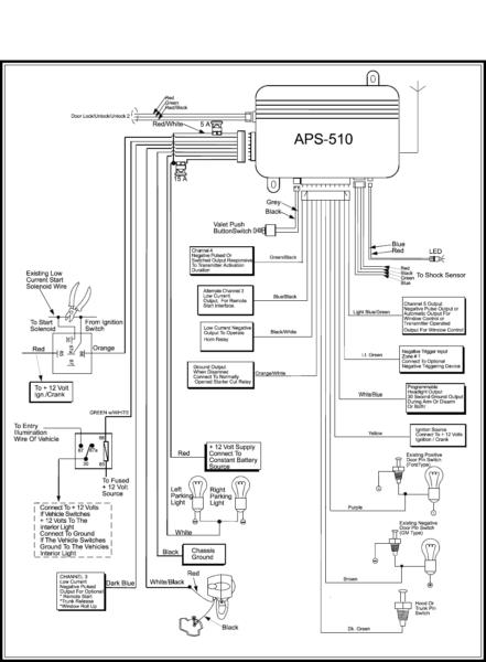 Valet Remote Starter Wiring Diagram