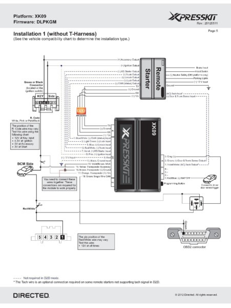 Bulldog Security Remote Starter Wiring Diagram