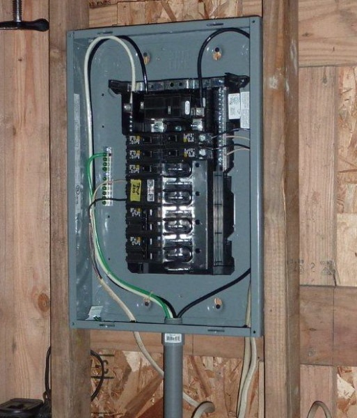 What Size Wire For 50 Amp Service From Main Panel