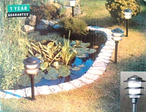 Wickes Pagoda 6 Light Set Garden Lighting Low Energy Saving 8w