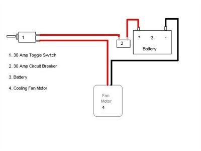 Wire Toggle Switch Cooling Fan Questions & Answers (with Pictures