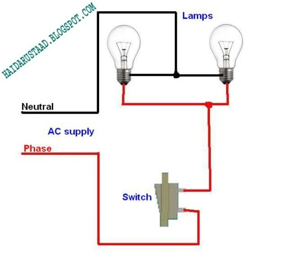 Wiring 2 Lights In Parallel Diagram