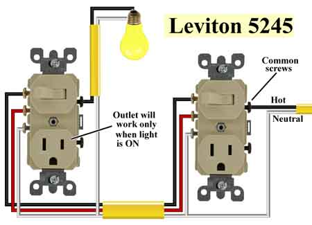 Wiring 3 Way Switch To Outlet