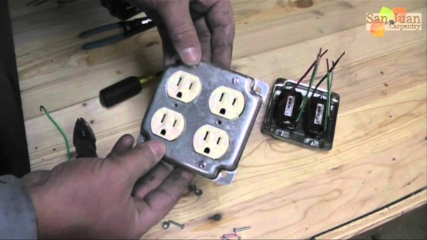Wiring A 4 Plug Outlet