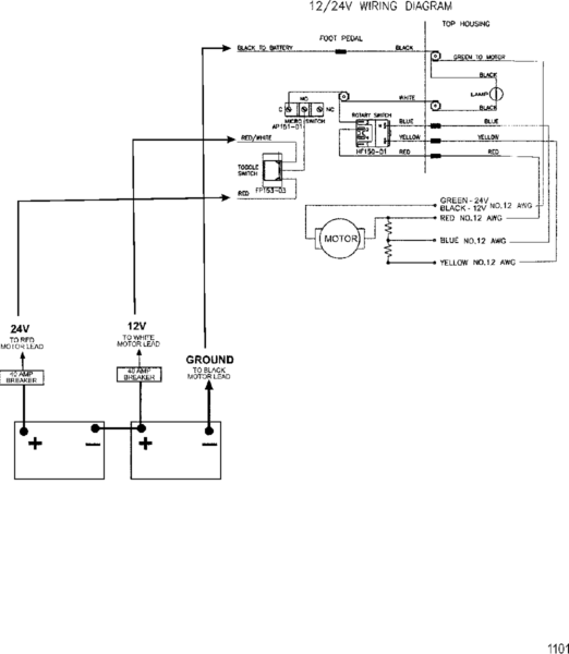 Wiring Diagram For 24v Motorguide Trolling Motor