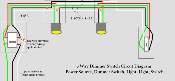 How To Wire Dimmer Switch 3 Way Switch