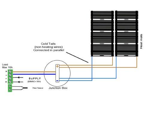 how to wire underfloor heating wiring diagram    wiring       diagram    for    underfloor       heating    thermostat     wiring       diagram    for    underfloor       heating    thermostat