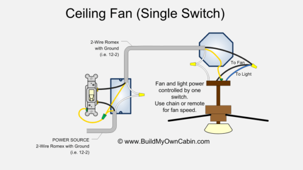 Wiring Dimmer Switch For Ceiling Fan
