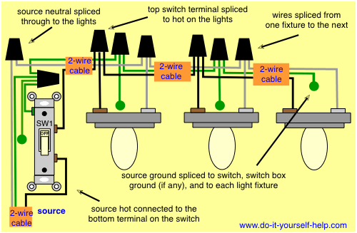 Wiring Lights Diagram