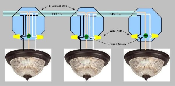 Wiring Multiple Lights Off Of An Existing Light