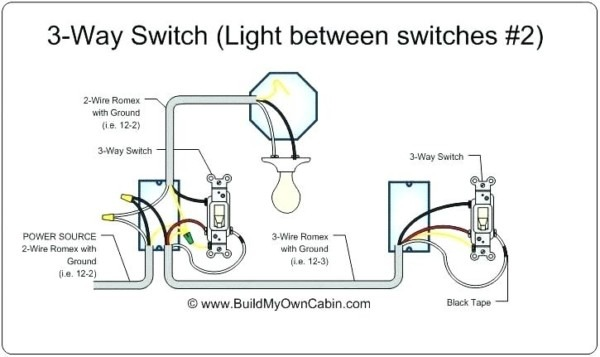 Wiring Two Switches To One Light Two Switches One Light Com Com