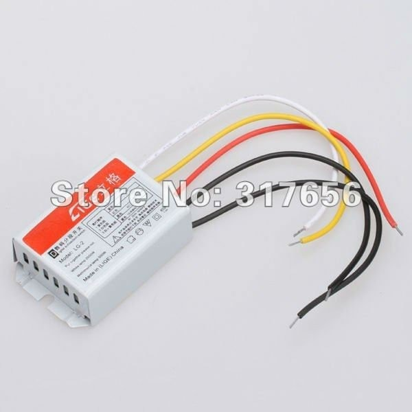 10pcs Lot,digital Subsection Switch 2 Way 3 Section Lighting