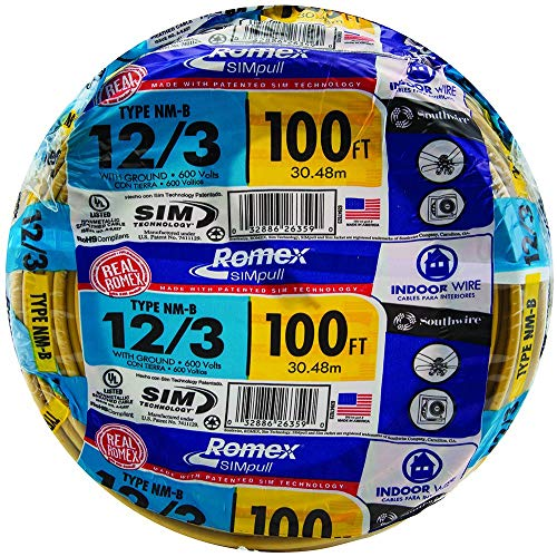 12 3 With Ground Electrical Wire  Amazon Com