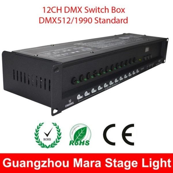 12ch Dmx Switch Box Dj Stage Lighting Equipment Dmx Switch Pack