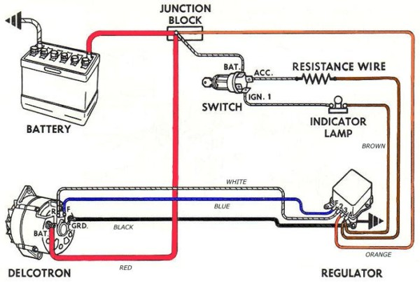 Vw Alternator Wiring Diagram