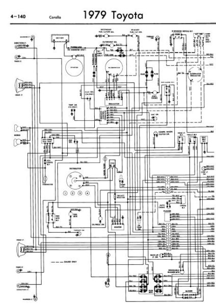 1998 Toyota Corolla Headlight Wiring Diagram