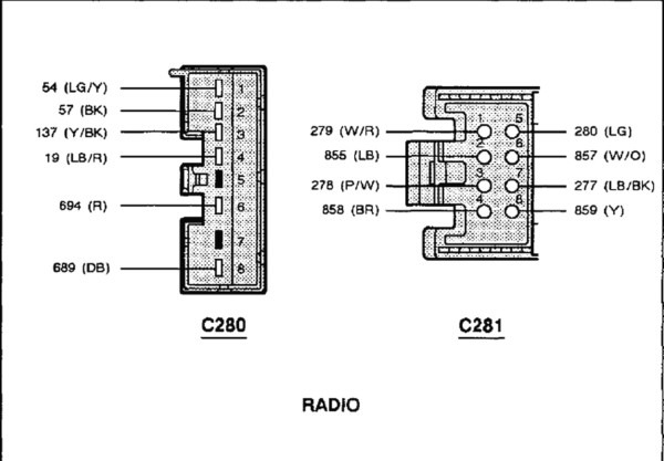 1998_ford_expedition_stereo_wiring_4 Radio Wiring Diagram For Ford Explorer Limited on