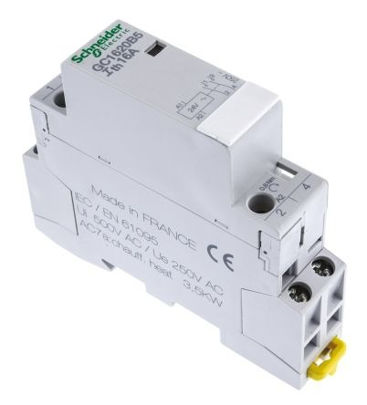 1 Pole Contactor Wiring