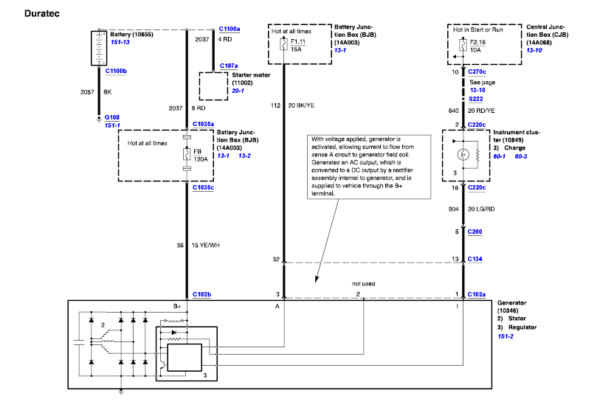 Ford Escape Pcm Wiring Diagram