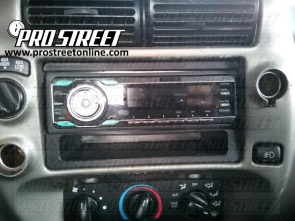 2005 Ford Ranger Radio Wiring