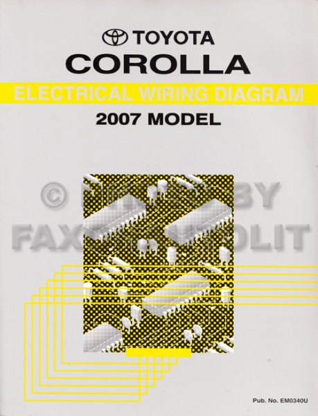 1998 Toyota Corolla Headlight Wiring Diagram