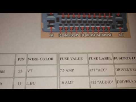 Honda Accord Stereo Wiring Diagram