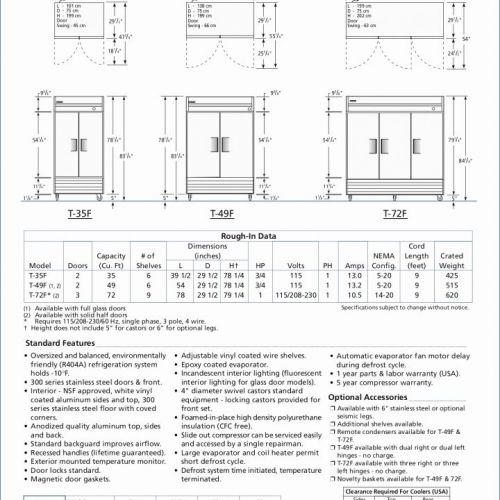 23 Cheap True Freezer T 49f Parts Goes Referigerator Ideas Wiring
