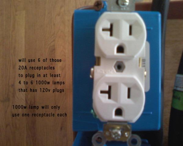 240v To Subpanel With 4x 120v Circuits